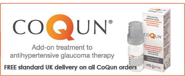 CoQun add on treatment to glaacoma therapy