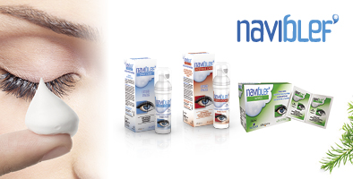 Naviblef range of lid care products