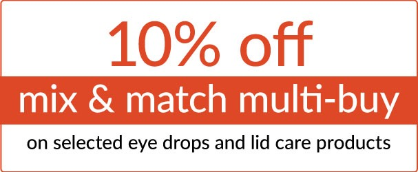 Mix and match multi-buy offers on selected eye drops